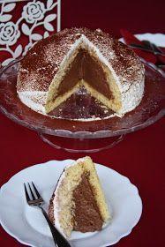A recept megjelent a Kifőztük magazin 2015. januári számában. Hozzávalók 22 cm-es kapcsos tortaformához a piskótához: 5 tojás ... No Bake Desserts, Nutella, Tiramisu, Tart, French Toast, Bakery, Cheesecake, Pudding, Cookies