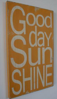 sunny sign
