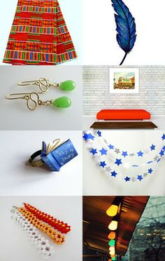 Colorful by Deborah Hall Barry on Etsy--Pinned with TreasuryPin.com