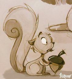 prévoyance Character Design Cartoon, Character Design Animation, Character Design References, Character Design Inspiration, Animal Sketches, Animal Drawings, Drawing Sketches, Sketching, Cartoon Drawings