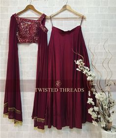 Budget Less Than Twisted Threads Has The Best Festive Lehengas - Indian Fashion Dresses, Indian Bridal Outfits, Indian Gowns Dresses, Dress Indian Style, Indian Designer Outfits, Indian Wear, Fashion Outfits, Wedding Outfits, Wedding Dress