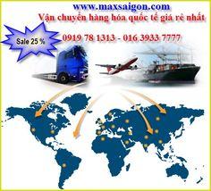 Dịch vụ chuyển phát nhanh quốc tế tốt nhất Hà nội và Tp HCM | Chuyển Phát Nhanh MaxSaiGon