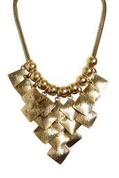 Erin Diamond Drop Necklace
