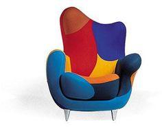 Los Muebles Amorosos Chair (Javier Mariscal)