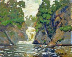 Garth Armstrong - Lake Rathbun Kawarthas 8 x 10 Oil on board Canadian Painters, Custom Framing, Oil, Fine Art, Gallery, Board, Painting, Roof Rack, Painting Art
