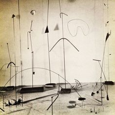 "lorrainehamilton:  iveseenthat:  Harry Bertoia, ""Metal Rods and Wires"", c. 1947-48  L"