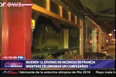 13 jóvenes mueren en un incendio en Francia mientras celebraban un cumpleaños
