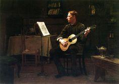 Dennis Miller Bunker - A Bohemian,1885