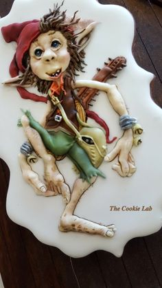 The Cookie Lab by Marta Torres (Coloured Royal icing Decorated Cookie - Not Panted)  #gnome #edibleart #3dimensionalcookies #sugarcookies #sugarart #sugarartist #sugardecoratedcookies #Royalicing #royalicingcookies #royalicingart #martatorrescookies #thecookielab