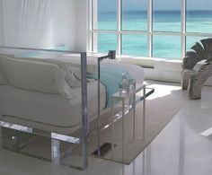 A Lucite Bed!!! Lucite FurnitureAcrylic ...