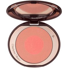 Charlotte Tilbury Cheek to Chic Swish & Pop Blusher ($40) ❤ liked on Polyvore featuring beauty products, makeup, cheek makeup, blush, 34. foundation & blush., beauty and beauty color blushes