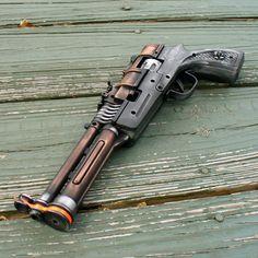 TESLA cap gun