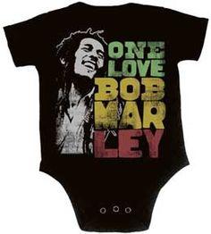 Jah Love per Bambini T-Shirt-Reggae Rasta rastafariana Bob Marley Kids