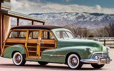 1948 Oldsmobile Woody!