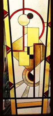 art déco créations de vitraux et panneaux décoratifs