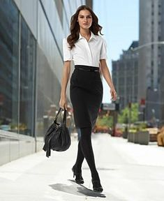 Featured: DKNY Pencil Skirt Both sexy and classy, the pencil skirt creates a flattering silhouette on every woman, no matter what size. Pair it with an all-business top for work, then slip into a p...