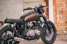 Kawasaki Z650 Brat Style by Retro Bikes Croatia #motorcycles #bratstyle #motos | caferacerpasion.com