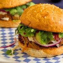 The Cemita – Mexican Pulled Pork Sandwich