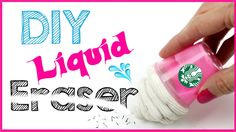 DIY Crafts: DIY LIQUID STARBUCKS ERASER! School Supply DIYs!