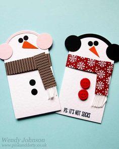 Snowmen Gift Card Holder
