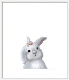 Rabbit Framed Print featuring the photograph Cute Easter Bunny Rabbit Boy by Oksana Ariskina by Oksana Ariskina on @pixels and @fineartamerica  Buy print and other product with my fine art  online: www.oksana-ariskina.pixels.com  #ArtForHome #FineArtPrints #Interior Design #OksanaAriskina  #HomeDecor #FineArtPrint #Wall #PrintsForSale  #Illustration #Watercolor #WallArt