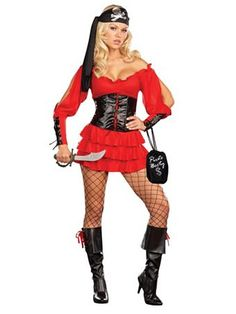 Pirate Wench Adult Costume | Sexy Pirate Halloween Costumes, I was this last year... what to do this year... hmmm