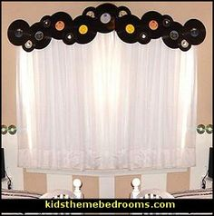 Music Themed Home Decor | Decorating theme bedrooms - Maries Manor: creative windows - window ...