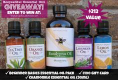 Beeyoutiful Essential Oils & Gift Card Giveaway...stock your Herbal Medicine Chest TODAY!