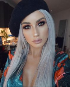 27 Blazing Hot Red Ombre Hair Color Ideas in 2019 - Style My Hairs Frontal Hairstyles, Weave Hairstyles, Hairstyles 2018, Beauty Make-up, Hair Beauty, Brown With Blonde Highlights, Red Ombre Hair, Grey Wig, Lace Hair