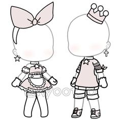 Bad Girl Outfits, Couple Outfits, Club Outfits, Anime Drawing Styles, Drawing Anime Clothes, Cute Anime Character, Character Outfits, Looks Kawaii, Club Hairstyles