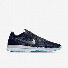 online store 61840 097e5  111.85 nike free 5.0 tr fit 5,Nike Womens Black Blue Lagoon Glacier  Blue Metallic Silver Free 5.0 TR Fit 5 Metallic Training Shoe