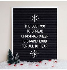Clever letterboard quotes, ideas and inspiration – Wall Products Word Board, Quote Board, Message Board, Felt Letter Board, Felt Letters, Memo Boards, Pin Boards, Merry Little Christmas, All Things Christmas