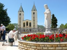 Medjugorje. We went in 1990-91(?). We stayed with Ivanka's family.  One of the most beautiful experiences we ever had.