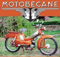 cyclomoteur 1950 1970 | Mobylette 93 1970 Motobécane Motoconfort, Pantin-Paris-France-Europe