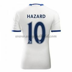 Fodboldtrøjer Premier League Chelsea 2016-17 Hazard 10 3. Trøje Premier League, Chelsea 2016, Football Kits, Club, Tops, Eden Hazard, Soccer Shirts, Chelsea Football, Football Soccer