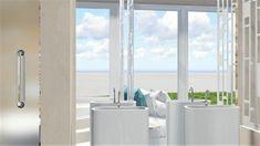 Διακοσμητές-Διακοσμησή-Ξενοδοχείων-στην-Κρήτη-18 (1) Luxury Villas in Crete - Διακοσμητές - Αρχιτέκτονες - Ανακαίνιση Ξενοδοχείων.Αρχιτεκτονικός Σχεδιασμός - Μελέτες Διακόσμησης - Διακόσμηση Ξενοδοχείων στην Κρήτη - τρισδιαστάτος σχεδιασμός Hotel Branding, Sink, Windows, Design, Home Decor, Sink Tops, Window, Interior Design, Design Comics
