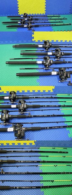 Trolling Combos 179957: Okuma Classic Pro 76 Line Counter Trolling Combo Cpc-762Ct-Ma20d 4 Pack!!!! BUY IT NOW ONLY: $200.0
