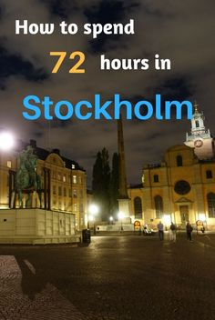 Have 3 days to spend in Stockholm? Find out how to make the most of out it, while keeping to your budget! #stockholm #travel #sweden #budget #backpack #backpacker #scandinavia #europe #gamlastan