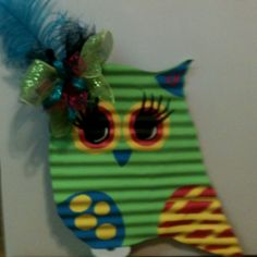 Corrugated Tin Owl, how cute is this?!?!