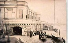 Old yacht club, Dunlaoghaire Co Dublin. Yacht Club, Dublin, Old Photos, Taj Mahal, Ireland, Past, Street View, Explore, History