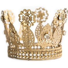 Gold Crown Cake Topper, Rhinestone Crown, Small Gold Wedding Cake Top, Princess Cake, The Queen of Crowns