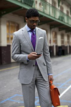 Fonzworth Bentley knows how to wear a suit