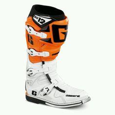 KTM orange!!!! Sick boots.