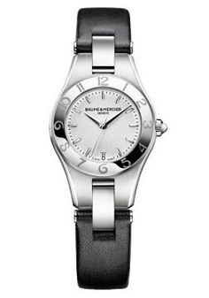 Relógio Baume Mercier Feminino Couro Preto - M0A10008 - B - MarcasBaume  MercierSegmentoFemininoModeloM0A10008MecanismoSwiss made  QuartzoResistência5 ... 228532f250c