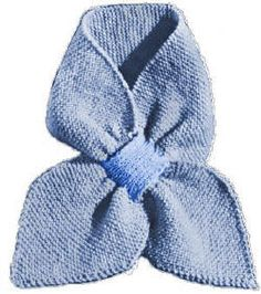 ascot or keyhole scarves to knit/crochet on Pinterest ...