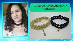 Crochet Easy Chocker (english tutorial) - YouTube