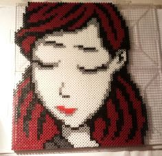Girl - Paperman perler beads by Crank Up Creations