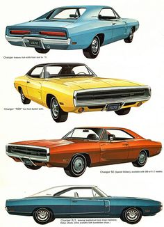 1970 Dodge Charger Range - I think my Dad had the 1969 model.