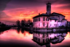 National Geographic Photo Book Shows Colors Around The World  Abbiategrasso, Italy