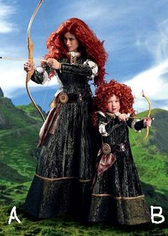 McCalls M6817 BRAVE Merida Ladies and kids Costume Pattern | Costume! | Pinterest | Brave merida and Costume patterns  sc 1 st  Pinterest & McCalls M6817 BRAVE Merida Ladies and kids Costume Pattern | Costume ...